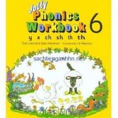 Jolly Phonics Workbook 6 y x ch sh th