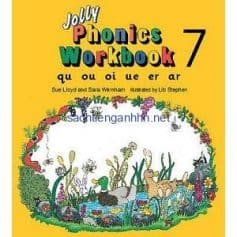 Jolly Phonics Workbook 7 qu ou oi ue er ar