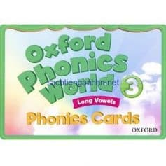 Oxford Phonics World 3 Phonics Cards