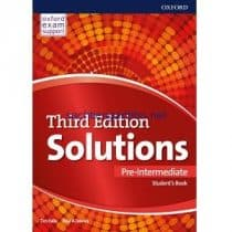 Solutions Pre-Intermediate Student's Book 3rd Edition