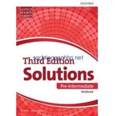 Solutions 3rd Edition Pre-Intermediate Workbook