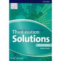 Solutions Elementary Student's Book 3rd Edition