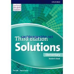 Solutions elementary workbook.