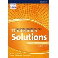 Solutions Upper-Intermediate Student's Book 3rd Edition