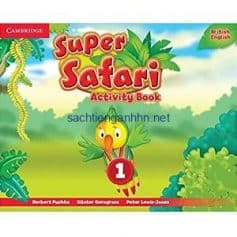 Super Safari British 1 Activity Book