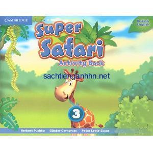 Super Safari British 3 Activity Book