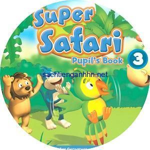 Super Safari British 3 Class Audio CD