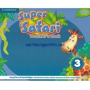 Super Safari British 3 Teacher's Book