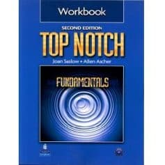 Top Notch 2nd Edition Fundametals Workbook