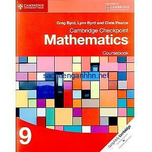 Cambridge Checkpoint Mathematics 9 Coursebook