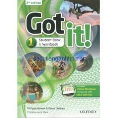 Got It! 2nd Edition 1 Student Book - Workbook