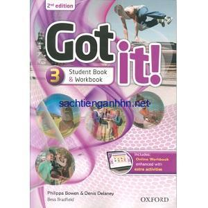 Got It! 2nd Edition 3 Student Book - Workbook