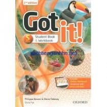Got It! 2nd Edition Starter Student Book – Workbook