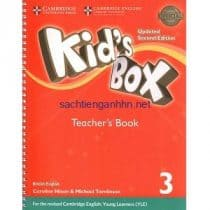 Kid's Box Updated 2nd Edition 3 Teacher's Book