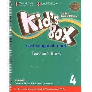 Kid's Box Updated 2nd Edition 4 Teacher's Book