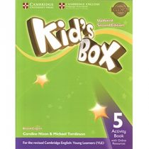 Kid's Box Updated 2nd Edition 5 Activity Book