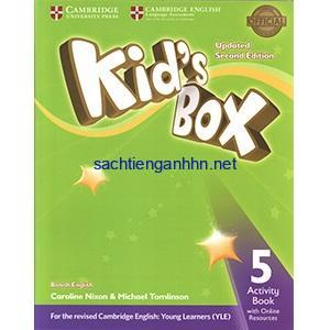 Kid's Box Updated 2nd Edition 5 Activity Book pdf download