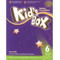 Kid's Box Updated 2nd Edition 6 Activity Book