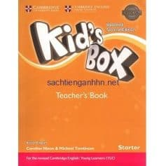 Kid's Box Updated 2nd Edition Starter Teacher's Book
