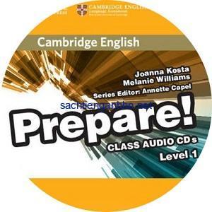 Prepare! 1 Class Audio CD