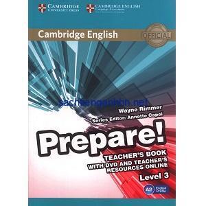 Prepare! 3 Teacher's Book pdf ebook download