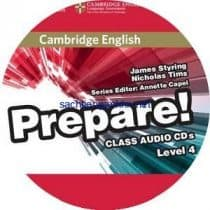 Prepare! 4 Workbook Audio CD