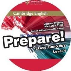 Prepare! 4 Class Audio CD
