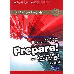 Prepare! 4 Teacher's Book pdf ebook download