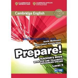 Prepare! 5 Teacher's Book pdf ebook download