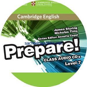 Prepare! 7 Class Audio CD