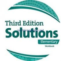 Solutions 3rd Edition Elementary Workbook Audio CD 2