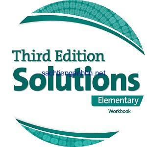 Solutions 3rd Edition Elementary Workook Audio CD