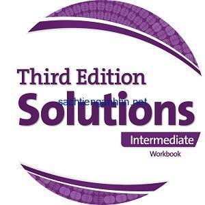Solutions 3rd Edition Intermediate Workbook Audio CD