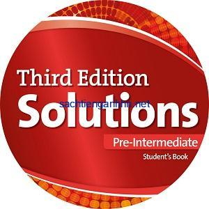 Solutions 3rd Edition Pre-Intermediate Class Audio CD