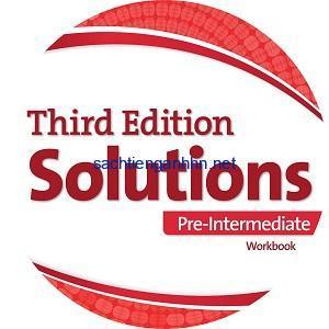 Solutions 3rd Edition Pre-Intermediate Workbook Audio CD