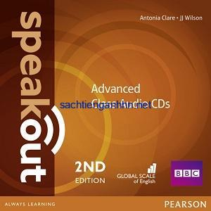 Speakout 2nd Edition Advanced Class Audio CD