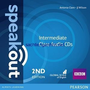 Speakout 2nd Edition Intermediate Class Audio CD