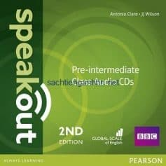Speakout 2nd Edition Pre-Intermediate Class Audio CD
