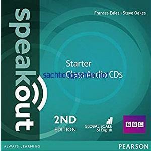 Speakout 2nd Edition Starter Class Audio CD