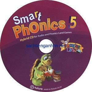 Smart Phonics 5 New Edition Audio CD and Phonics Land Games