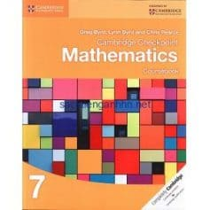 Cambridge Checkpoint Mathematics 7 Coursebook