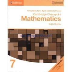 Cambridge Checkpoint Mathematics 7 Skills Builder Workbook