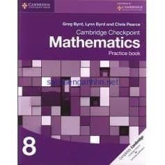 Cambridge Checkpoint Mathematics 8 Practice Book