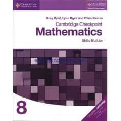 Cambridge Checkpoint Mathematics 8 Skills Builder Workbook