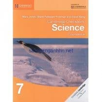 Cambridge Checkpoint Science 7 Coursebook