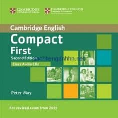 Cambridge English Compact First Class Audio CD 1 2nd