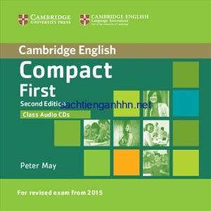 Cambridge English Compact First Class Audio CD 2 2nd