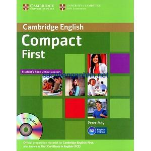 Cambridge English Compact First Student Book without answers