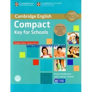 Cambridge English Compact Key for Schools Student Book without answers
