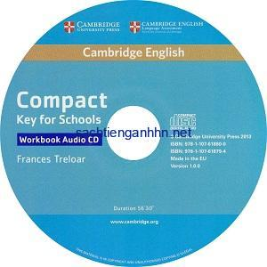 Cambridge English Compact Key for Schools Workbook Audio CD